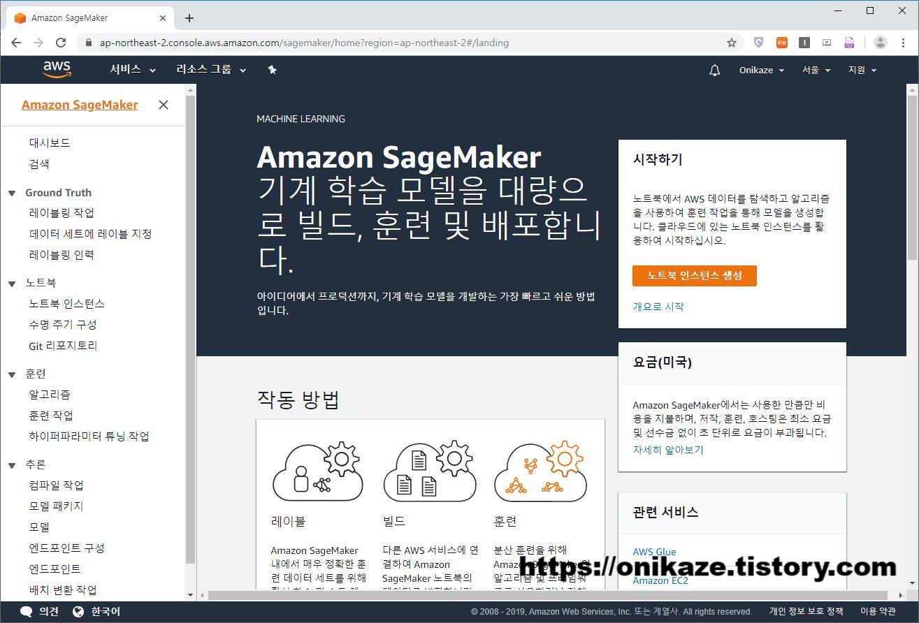Sagemaker Dashboard